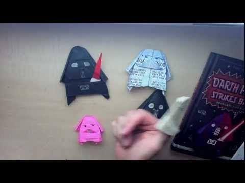 ▶ Darth Paper Strikes Back: An Origami Yoda Book by Tom Angleberger - YouTube