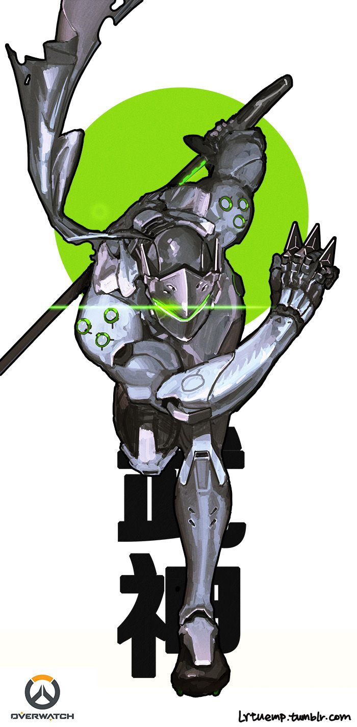 Video games iphone wallpaper tumblr - Overwatch Genji Tumblr Easy To Drawvideo Game