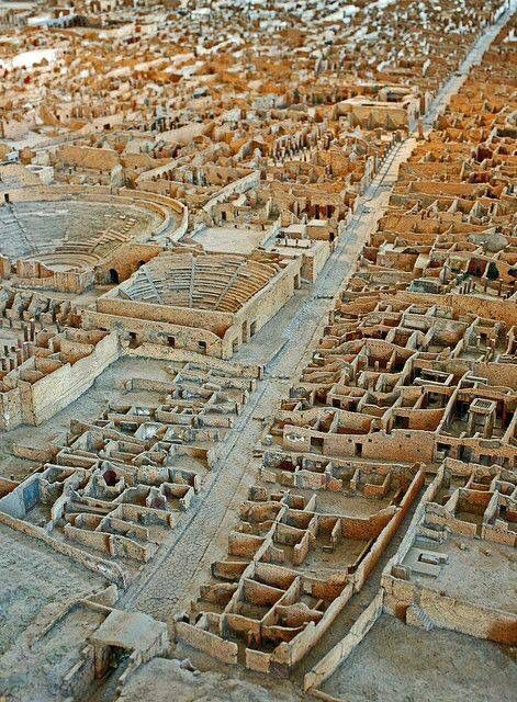 Pompeii. The bird's-eye view is nice.