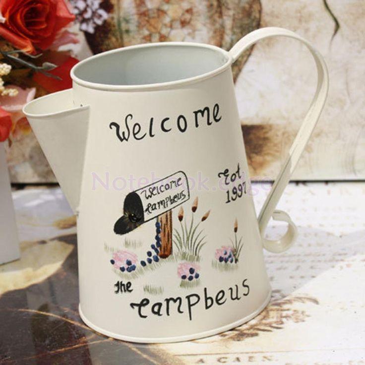 Welcome Metal Flowers Vase Jug Pitcher For Wedding Home Flower Arrangement