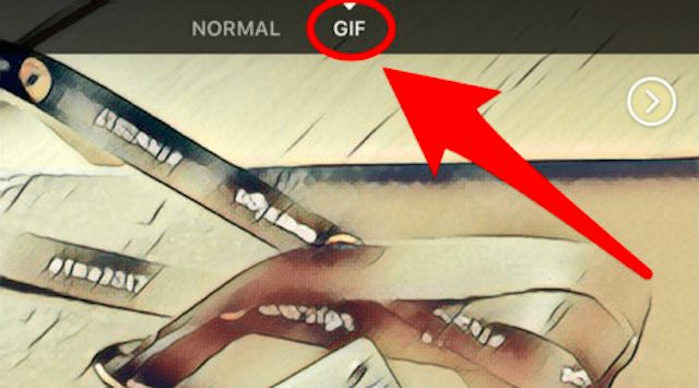 Facebook now lets you create GIFs from within the camera.