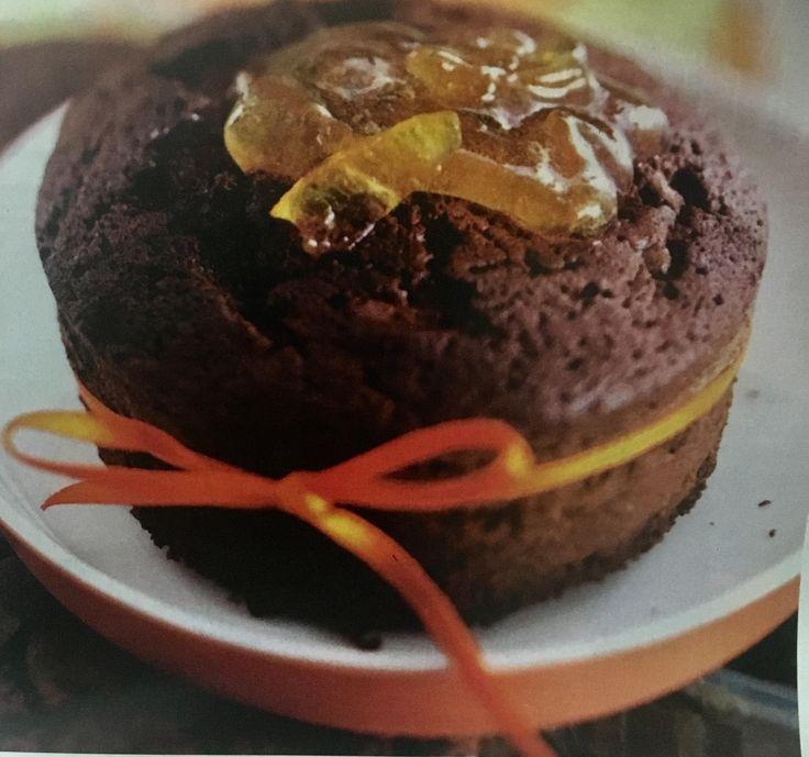 Σοκολατένιο γλύκισμα με πορτοκάλι (3 μονάδες)