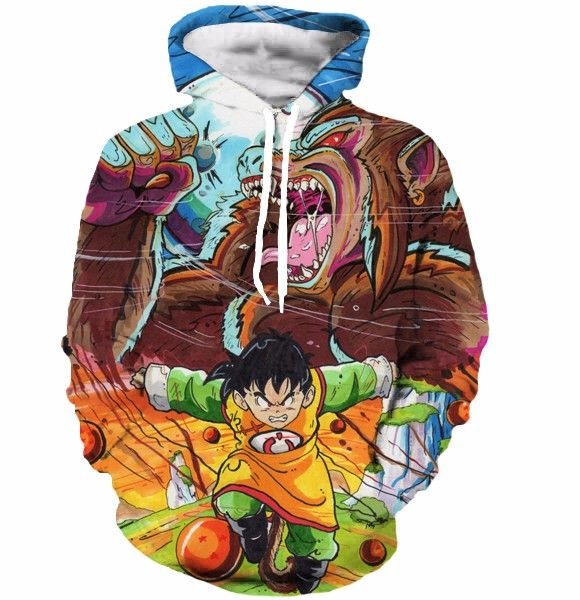 Training To Beat Goku Or At Least Krillin Hoodie - Free Shipping