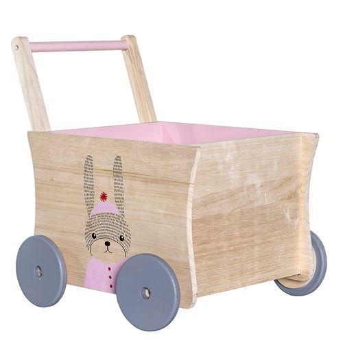 Dřevěný vozíček Wagon