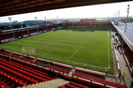 Bank's Stadium, Walsall. Except it will always be The Bescot Stadium.