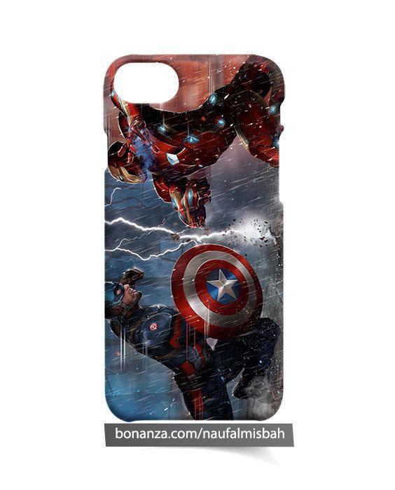 Captain America Marvel Comics iPhone 5 5s 5c 6 6s 7 + Plus 8 Case Cover - Cases, Covers & Skins