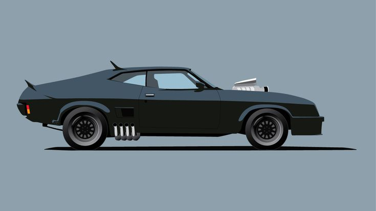 1973 Ford Falcon XB GT Coupe [Mad Max Interceptor] (Jamin Cannon)