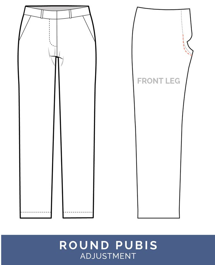 The best tips for pants fitting! Get our in-depth instructions to diagnose and correct 16 common pants fitting adjustments & download our free fitting ebook.