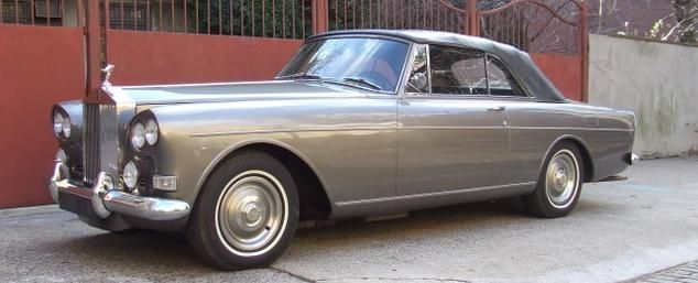 rolls silver cloud chinese eye drophead coupe