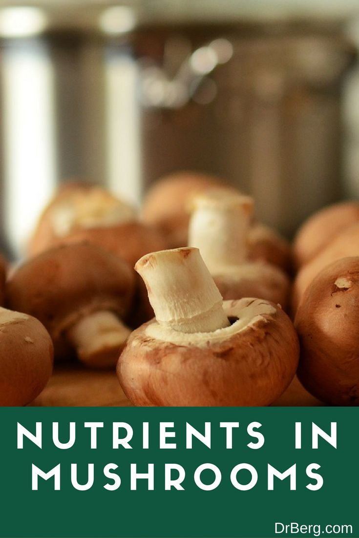 In this video, learn more about the nutrients in mushrooms from Dr. Berg!  https://www.drberg.com/blog/most-recent/the-top-nutrients-in-mushrooms