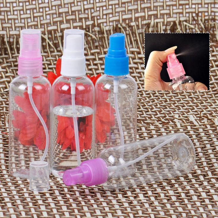 10pcs 100ml Clear Empty Plastic Perfume Atomizer Spray Transparent Bottle Travel