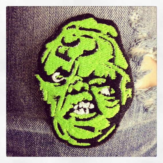 Toxie Embroidered Patch by Oneyedjax on Etsy