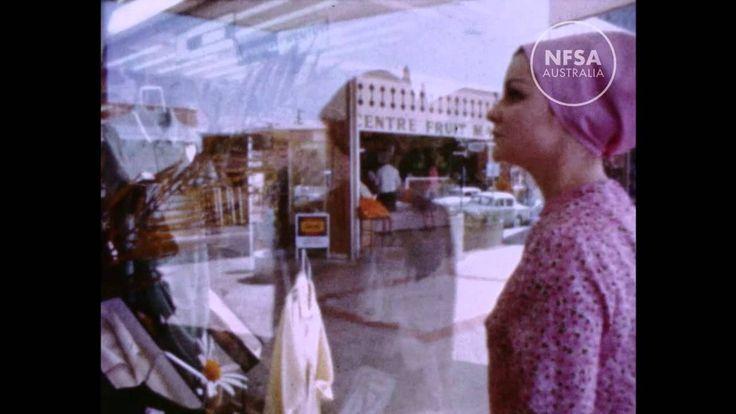 Suburban shopping in Australia, c.1964