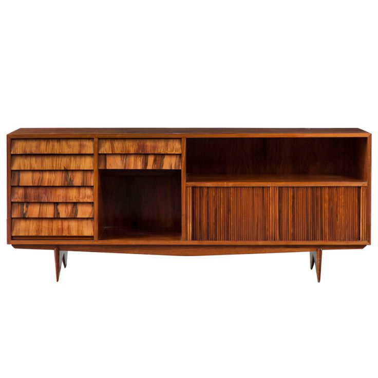 Credenza In Caviona Wood By Martin Eisler For Forma Brazil Circa 1958