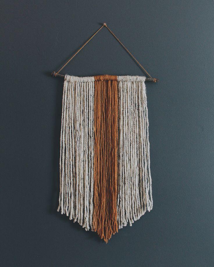 25+ unique Yarn wall hanging ideas on Pinterest | Yarn ...