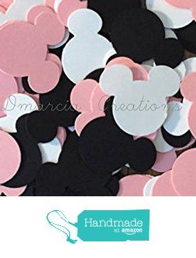 Minnie Mouse Head Confetti from Dmarcia Creations…
