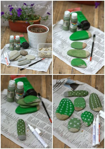 DIY: Cactus que no se marchitan