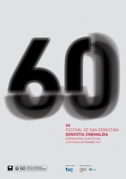 Cartel oficial 60 edición Festival San Sebastian