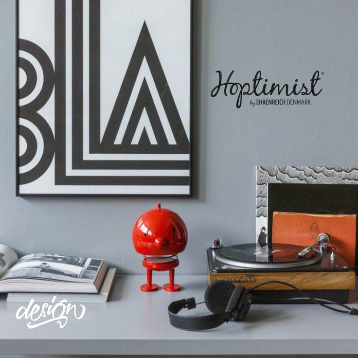 Design ikon. Bigger The better is true - fantastic design ikon from Hoptimist Denmark.