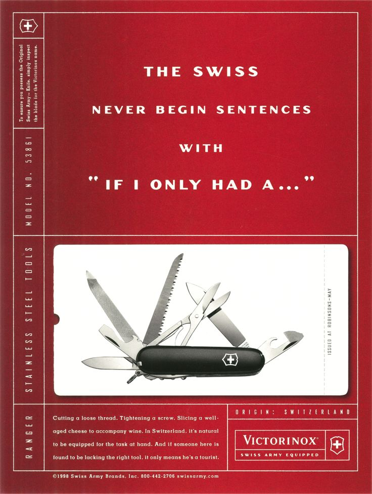31 Best Images About Everything Swiss Army Knife On