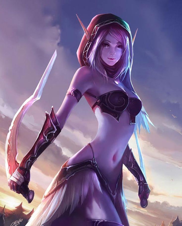 73 Best Blood Elf Art Warcraft Images On Pinterest