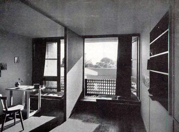 107 best l 39 unit d habitation le corbusier images on pinterest - Decoration le corbusier ...