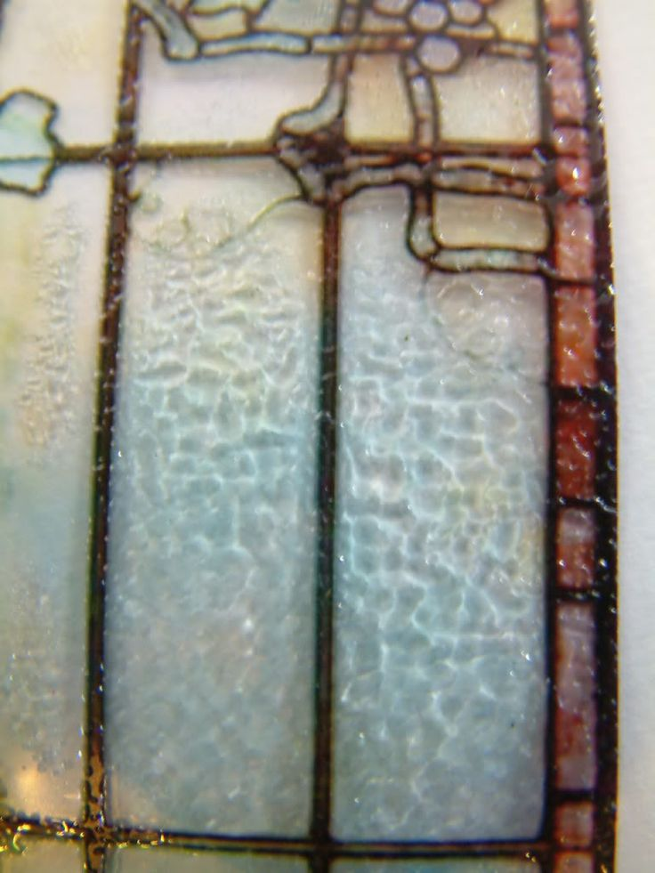 Embossing transparency film tut miniature tutorials for Make your own stained glass window film
