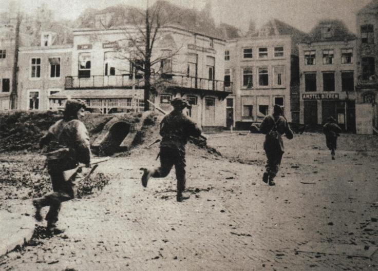 KOSB Flushing 1944
