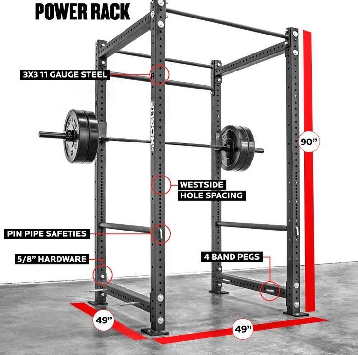 Best images about power rack measurements on pinterest