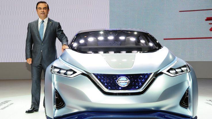 Автономный автомобиль будущего от Nissan...