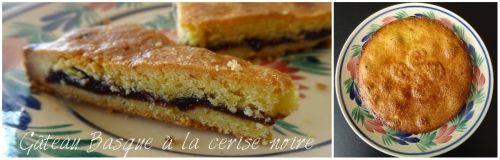gâteau basque à la cerise noire  'cuisine au beurre salė'