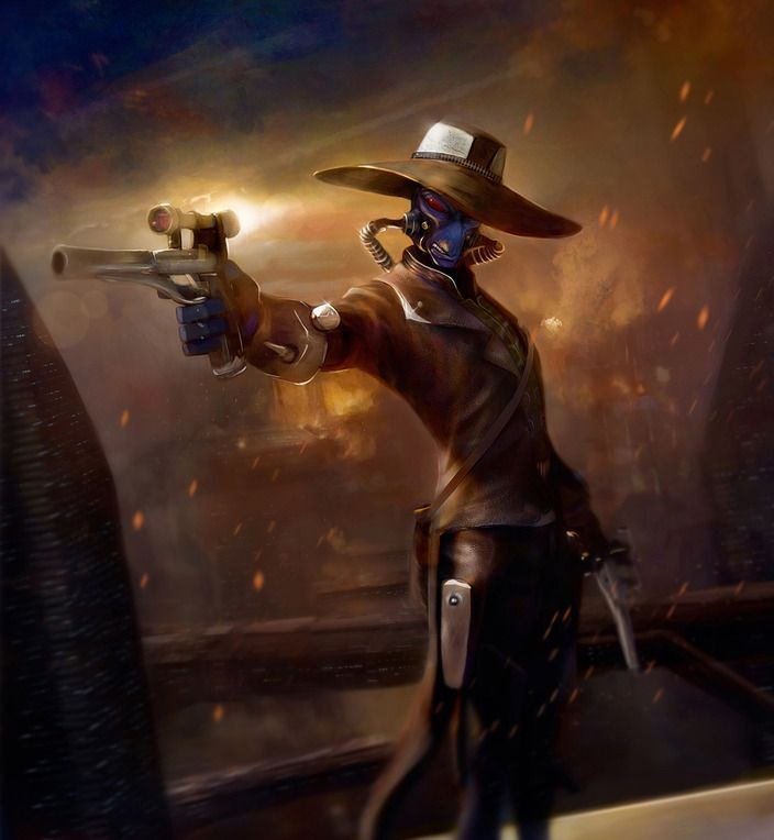 Bounty Hunter Cad Bane