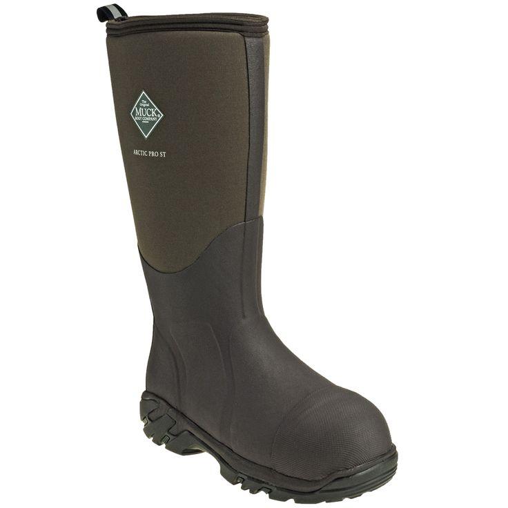 Muck Boots Unisex ACP STL Brown Waterproof Arctic Pro Steel Toe Extrem
