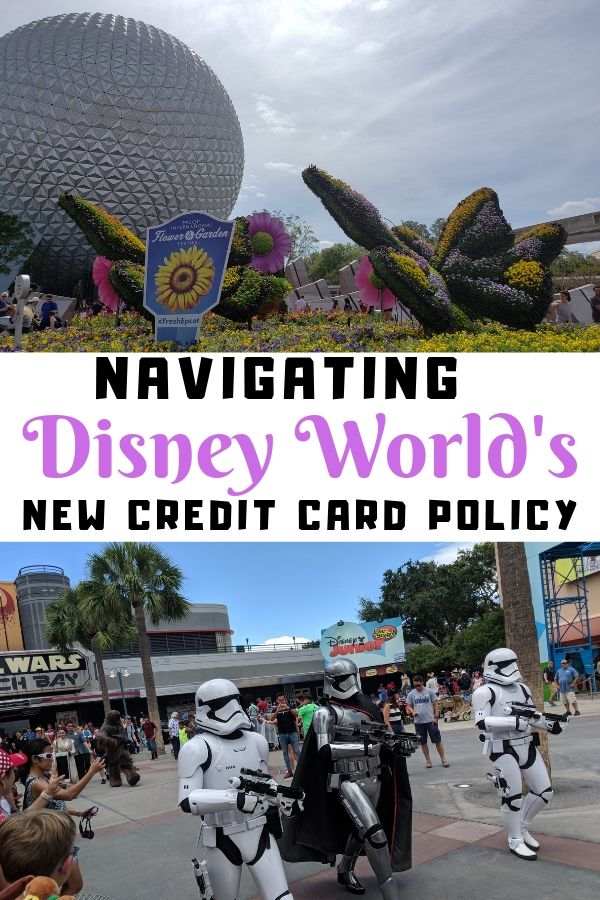 Navigating the new Credit Card Policy for Disney World Resort Hotels