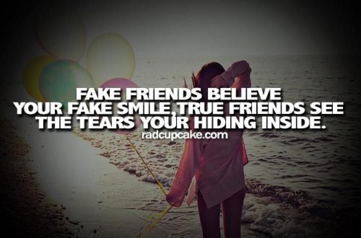 Quotes For True Friends And Fake Friends: Fake Friends Vs. Real Friends