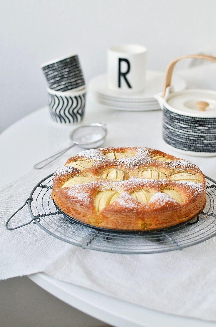 Nur wer genießt, ist genießbar: Lieblings-Apfelkuchen