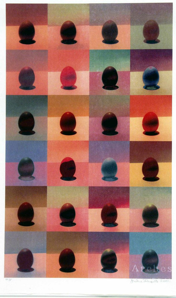 Lots of Eggs - Jackie Sleight. Australian art.