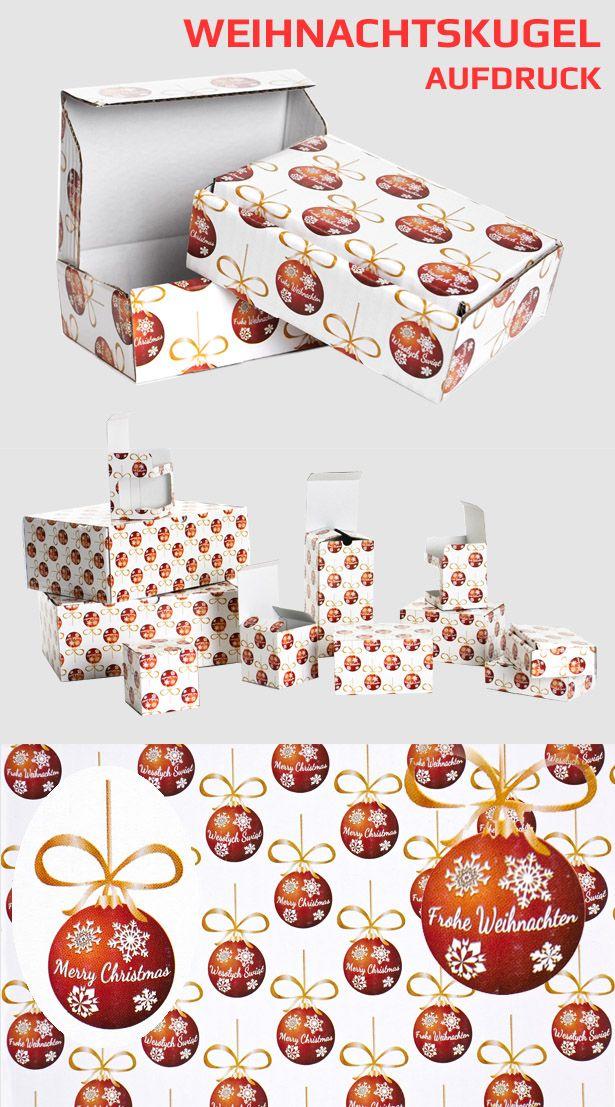 Diese Kartons eignen sich hervorragend für die Verpackung und sicheren Versand von Weihnachtsgeschenken aller Art.  #Versandschachtel #KARTON #WEIHNACHTSSCHACHTEL #Faltkarton #Schachtel #Weihnachten