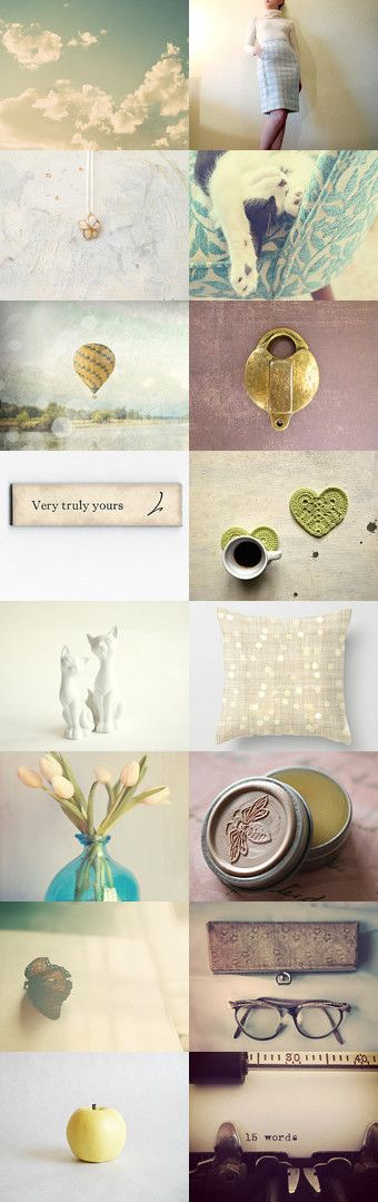 Very truly yours...  by Amanda on Etsy--Pinned with TreasuryPin.com