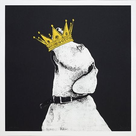 Crown (Silkscreen Signed Limited Edition of 250) by Dolk