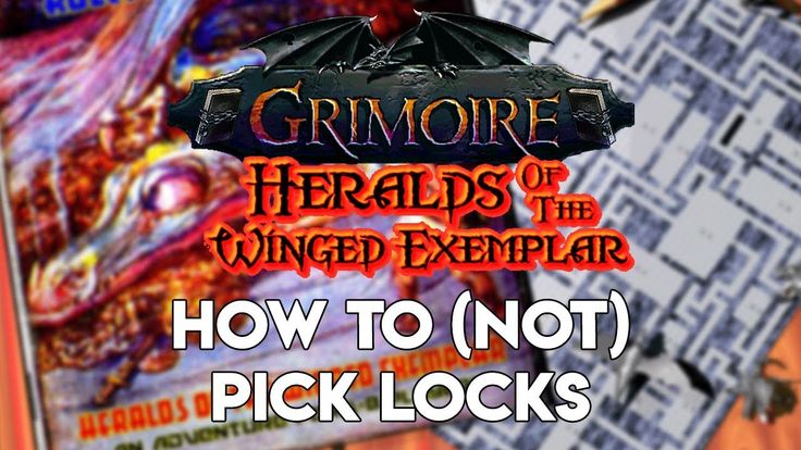 Grimoire Gameplay   Tutorial Video - How to (not) pick locks! Retro Old ...