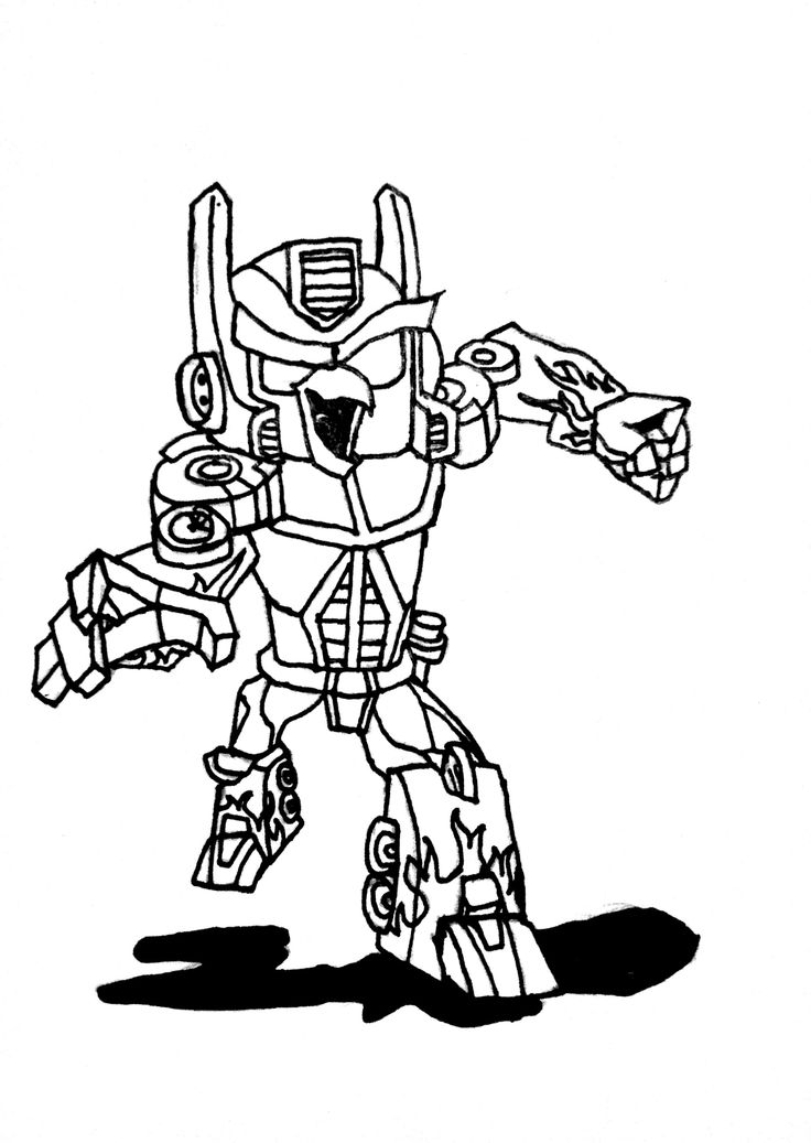 hasbro transformer coloring pages - photo#30