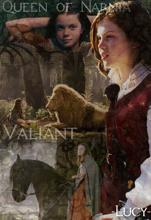 My favorite character from Narnia. :) (besides Aslan of course ) though Edmund is a close third
