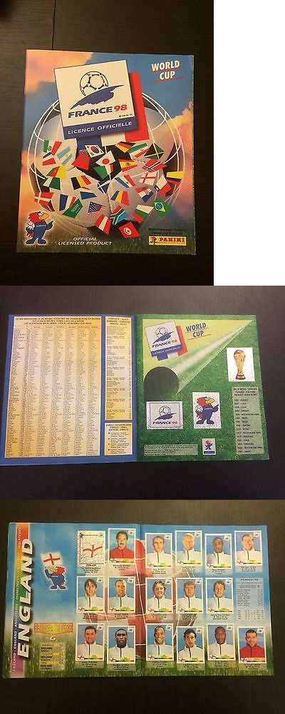 Soccer Cards 183444: Panini World Cup France 98 Complete Stickers Album Rare -> BUY IT NOW ONLY: $249.95 on eBay!