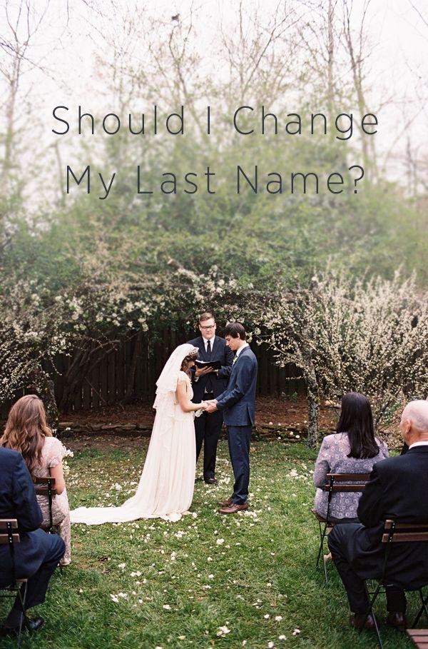 Should I Change My Last Name
