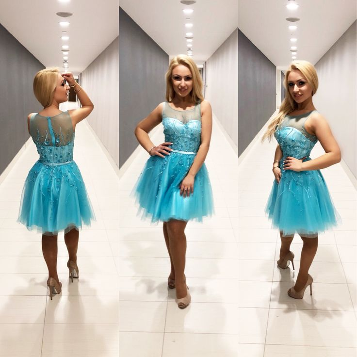 Good morning fashion lovers! Check out this hand beaded #turquoise #princess #short #gown! This must-have is only available at @ninascollection #ninacouture ❄️ #Canada #Toronto #Mississauga #Ontario #snow #Dressshopping #dresses #dress #prom #grad #graduation #happy #beautiful #gorgeous #prom2k18 #prim2018 #grade8graddress #graddresses