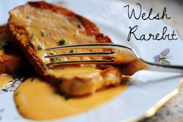 Better-than-fondue Welsh rarebit. | 23 Classic British Dishes To Keep You Warm Through The Long, Dark Winter