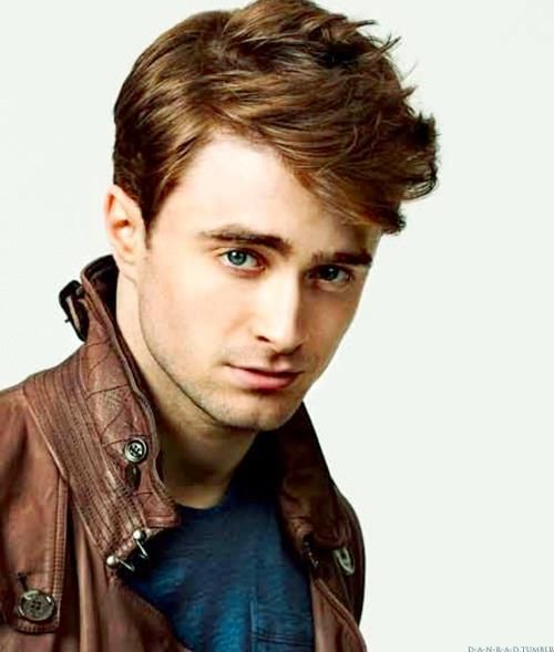 Amazing British hair example #2. Daniel Radcliff. Is there something in the water?