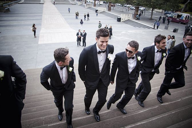 The groom entering the church, the anticipation building. A shot to add to your wedding photography album wish list #weddingphotography #markjayphotography #sydneyweddingphotographer #groomsmen #groom #wedding