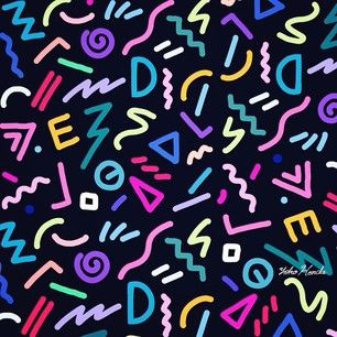 Yoko Honda #pattern #80s